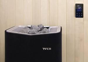 Tylö Sense Combi Saunaofen Montagebeispiel für Tylarium Dampfsauna