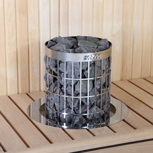 Harvia Cilindro mit 9kW im Test › Saunaofen