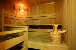 Saunakabine Groesse - Saunaofen Leistung