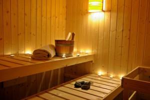 Sauna zum Verwöhnen