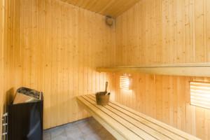 Wartung und Pflege einer Sauna