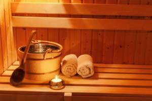 Sauna Reinigung und Pflege