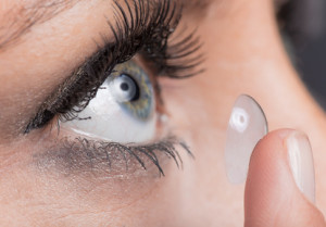 Kontaktlinsen Sauna