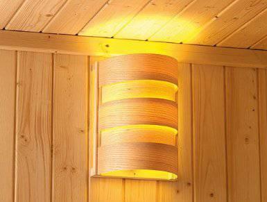 saunabeleuchtung wichtiger bestandteil der sauna saunaofen. Black Bedroom Furniture Sets. Home Design Ideas