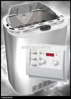 Sawo Bio Kombi Sauna Dampfofen 8kW mit Scandia Klimasteuerung K3